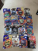 Lot Of 16 Winners Circle Racing Champion Muscle Machines 164 Die Cast Nascar