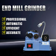 New 4-20mm Automatic End Face Sharpening Machine Grinding Tools Endmill Grinder