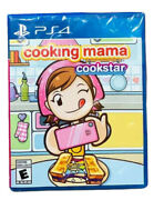 Cooking Mama Cookstar Playstation Ps4 2021 Us English French German Sealed