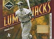 2003 Athletics Leaf Limited Lumberjacks Bat 21 Jimmie Foxx/25