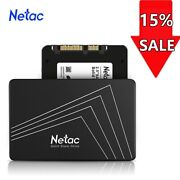 Netac 250gb Ssd 2.5and039and039 Sata Iii 6 Gb/s Internal Solid State Drive 500mb/s Pc/mac