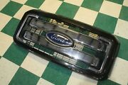 Dmg11-16 F250 Black Painted Surround Chrome Bar Grille King Ranch Grill Oem