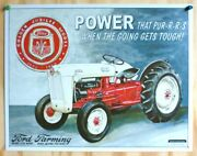 Ford Farming 50s Tractor New Tin Metal Sign Golden Jubilee Model 1903-1953
