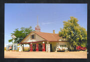 Skelly Service Gas Station Pumps The Oil Can Advertising Postcard Copy