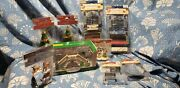 Lot 9 Vintage Lemax Christmas Village Accessories Collectibles New In Package