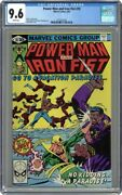 Power Man And Iron Fist 1972 Hero For Hire 70 Cgc 9.6 Frank Miller Cover