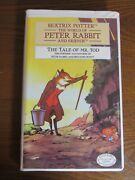 Beatrix Potter The Tale Of Mr. Tod Collectors Edition-1996 Vhs