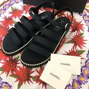 Authentic Pearl Sandal Free Shipping No.6830
