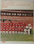 1968 St. Louis Cardinals Nfl Football Yearbook 145526