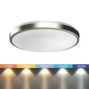 11 13 Led Ceiling Light   All-in-one Adjustable Color   Dimmable   Flush Mount