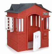 Little Tikes Cape Cottage House Red With Working Doors Working Window Shutters
