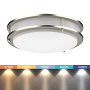 Led Ceiling Light   All-in-one Adjustable Light Color   Dimmable   10/12/14