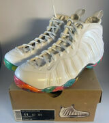 """Nike Air Foamposite One """"fruity Pebbles"""" Size 11 By Noldos Customs Deadstock"""