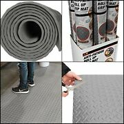 Roll Garage Flooring Protecting Mat Industrial Commercial Rubber Gym Grip Rug