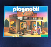 Playmobil 3787 Golden Nugget Saloon - Mint In Unopened Sealed Box Misb 1990s