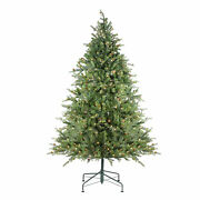 Northlight 9and039 Pre-lit Hunter Fir Artificial Full Christmas Tree - Clear Lights