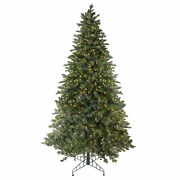 Northlight 9and039 Savannah Spruce Artificial Christmas Tree - Clear Lights