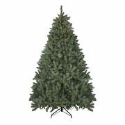 Northlight 7.5and039 Grande Spruce Artificial Christmas Tree - Dual Color Led Lights