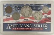 Americana Series The Yesteryear Collection 5 Coin W/ Plastic Historic Set