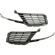 Set Of 2 Grille Assemblies Left-and-right Ej7z8200aa Ej7z8201aa Lh And Rh Pair