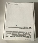 P90x Extreme Home Fitness Training Workout Dvd 12 Disc Horton Nutrition Book