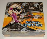 Duel Masters English Version Fatal Brood Of Infinite Ruin Dm-09 Booster Box