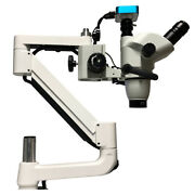 Dental Operating Stereo Microscope With Camera Led Light For Dental Chair Unit