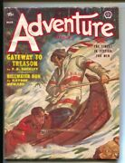 Adventure 3/1953-popular-final Pulp Fiction Issue-rcmp Cover By V.e. Pyles-vg/fn