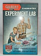 Vintage 1950and039s Gilbert 12035 Chemistry Experiment Lab Kit