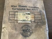 Wico Magneto Nos X4599 Vintage Parts Package