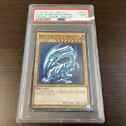 Yugioh Psa There Is A Psa9 Blue-eyed White Dragon Wcs 2015-jpp01 Card