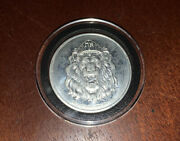 Niue Zealand Mint Lion Print 1 Oz .9999 Silver Coin Real Silver