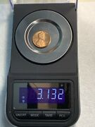 1982 D Lincoln Us Penny Red 3.132grams Copper Error Coin Collectible Vf 00151