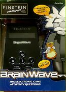 Einstein Brain Games Brainwave An Electronic And Interactive 20 Questions Game