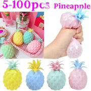 Fidget Autism Special Needs Stress Reliever Sensory Toy Squeeze Pineapple Ball