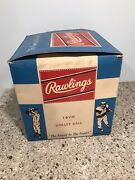 Rawlings 18vh Volleyball Empty Cardboard Box Only Vintage Old Volley Ball