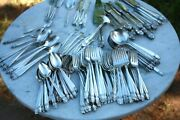 Flatware 145 Pieces, Finland, Hopeakeskus, Holmes And Edwards Inlaid Silver, Plate