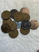 1908 Indian Head Penny Plus Bonus 12 Collectible Us Coins Lincoln Pennies.