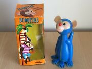 """Vintage Scooties Merrie Monkey 5"""" Friction Toy Boxed V Rare"""