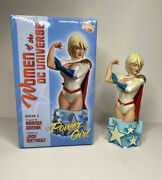 Power Girl Bust Women Of The Dc Universe Series 3 Statue Amanda Conner 46/5000