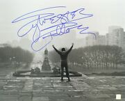 Sylvester Stallone Rocky Autographed 16x20 Museum Steps Photo Asi Proof