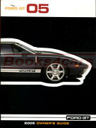 Ford Gt Owners Manual 2005 Ford Book Handbook Guide