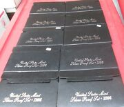 1996 S Silver Proof Set U.s. Mint 10 Sets Box And Coa Investment Wholesale