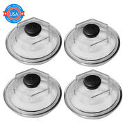 4x Replacement Oil Caps 10khd 12kand15k 4 Threads Trailer Axle 21-36 For Dexter