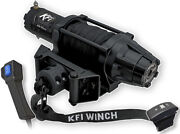 Kfi 5000lb Winch Synthetic Rope W/rocker N Wired Controller Atv Utv As-50wx