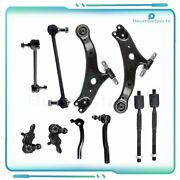 10 X Suspension Kit Front Control Arm Fits 2002-2012 Toyota Camry K620334 Es3600