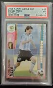2006 Panini Fifa World Cup Germany Lionel Messi 47 Argentina Psa 7