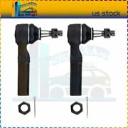2x Brand Steering Outer Tie Rod End Kit Es3459 Fits For 1997-2004 Buick Regal