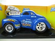 Muscle Machines - Da Rat Killer - 1941 - And03941 Willys Gasser Coupe - 1/18 Diecast