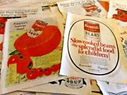 Lot Of 66 Large 1920's Vintage Campbell Soup Magazine Print Ads 10-3/8 X 14